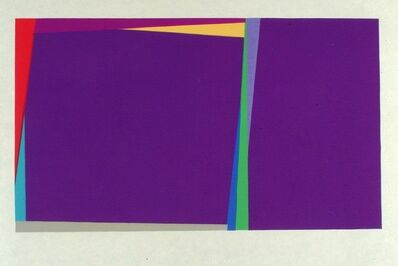Larry Zox, 'Abstract Composition (Untitled)', 1971