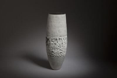 Gabriele Koch, 'Tall Porcelain Textured Vessel ', 2020