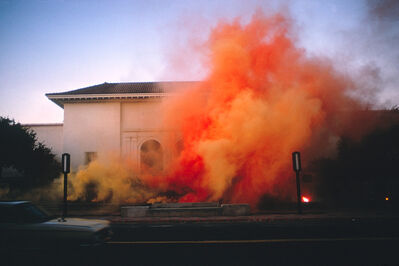 Judy Chicago, 'Santa Barbara Museum Atmosphere from the on Fire Series', 2018