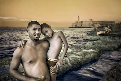 E.K. Waller, 'Father Son Beach', 2013