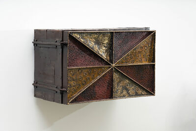 Paul Evans (1931-1987), 'Paul Evans Sculpture Front Wall-Mounted Cabinet, USA', ca. 1965