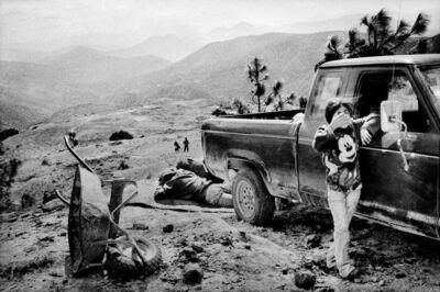 Matt Black, 'A family rests alongside a road. Santiago Mitlatongo, Mexico.', 2011