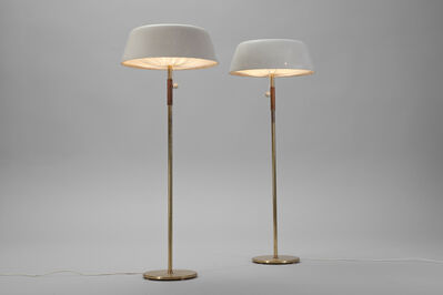 Paavo Tynell, 'Rare Pair of Floor Lamps', ca. 1950