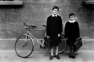 Will McBride, 'Two guys in Florence', 1957