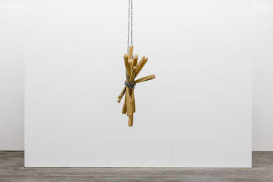 Marco Fusinato, 'Constellations (wooden bats & chain, Biennale of Sydney, 2018)', 2019