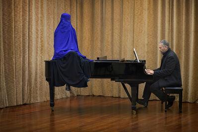 Yannis Bournias, 'Rehearsal room', 2016