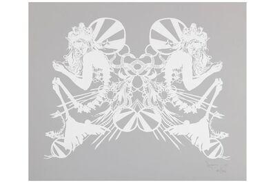 Swoon, 'Miss Rockaway (White on Mylar)', 2007
