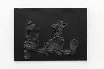 Toni Schmale, 'frau mit katze', 2019
