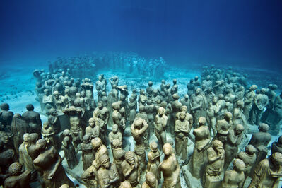 Jason deCaires Taylor, 'The Silent Evolution (1)', 2012