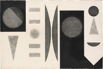 Dorothy Dehner, 'LUNAR SERIES #6', 1971