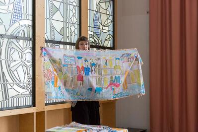 Magdalena Kita, 'Graduation scarf commission for Kunstakademie Düsseldorf', 2017