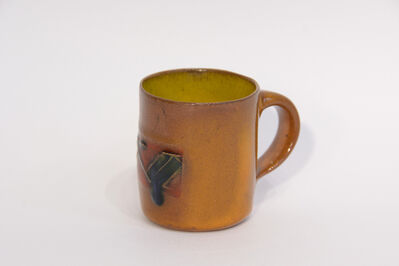 Ken Price, 'Mezcal Cup (Orange/Red/Blue & Green)', Undated