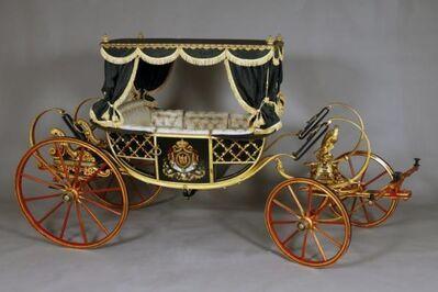 Georges Ehrler, 'Calèche d'apparat du Prince impérial (Ceremonial carriage of the Imperial Prince)', 1859