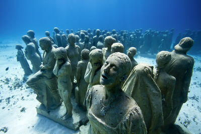 Jason deCaires Taylor, 'The Silent Evolution (4)', 2012