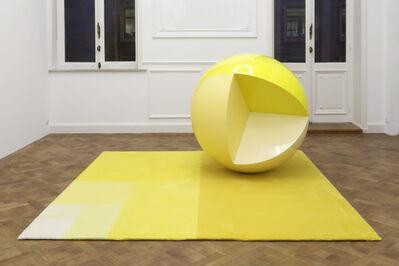 Carsten Höller, 'Divisions (Sphere and Carpet)', 2014