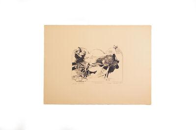 Ellen Lanyon, 'Oh, Oh Ostrich', 1967
