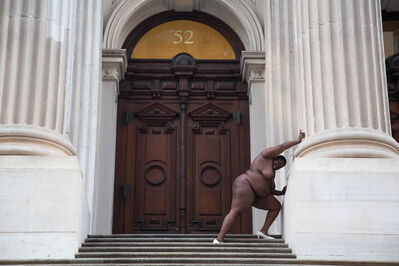 Nona Faustine, 'They Tagged the Land with Trophies and Institutions from their Rapes and Conquests, Tweed Courthouse', 2013