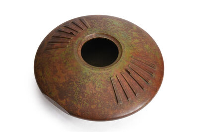 """Imai Chihiro, '""""1955 Nitten Exhibition""""Bronze Vase', 1995"""