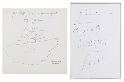 Pablo Picasso, 'Le Coucher de Soleil; Mougins A.M.', 1969