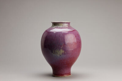Brother Thomas Bezanson, 'Vase, fumed copper red', n/a