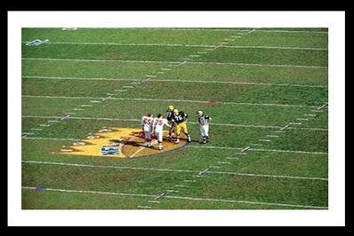 Neil Leifer, 'Packers vs Chiefs, Super Bowl I Coin Toss', 1967