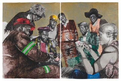 Bambo Sibiya, 'Untitled (diptych)', 2018