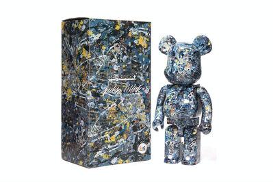 Jackson Pollock, 'Studio Version #1 1000% Be@rbrick', 2017