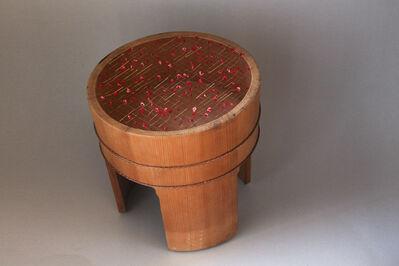 Norihiko Terayama, ' samawomatou: Wooden tub', 2021