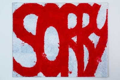 Allan Graham, 'Sorry', 2019
