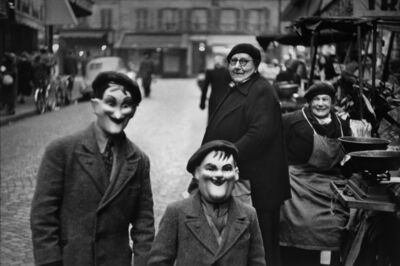 Elliott Erwitt, 'Paris, France (children with masks)', 1949