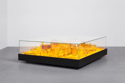 Stuart Haygarth, 'Aladdin Table Amber', 2006