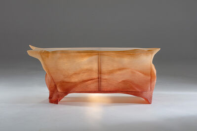 Marc Fish, 'Marc Fish, Stratum Resin Cabinet, UK', 2020