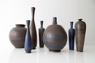 Berndt Friberg, 'Collection of monumental studio vases', ca. 1955