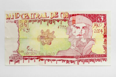 Keren Cytter, 'Che Guevara (banknote)', 2017