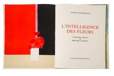 Bernard Cathelin, 'L' intelligence des fleurs', 1988