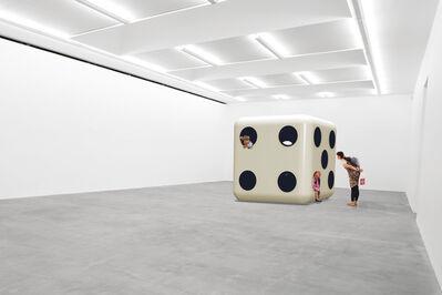 Carsten Höller, 'Dice (White Body, Black Dots)', 2014