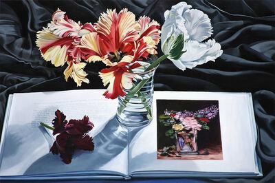 Sherrie Wolf, 'Tulips with Vase De Fleurs', 2017