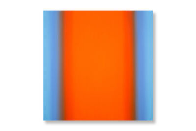 Ruth Pastine, 'Inevitability of Truth 7-S4848 Square (Blue Orange/Orange Deep)', 2015