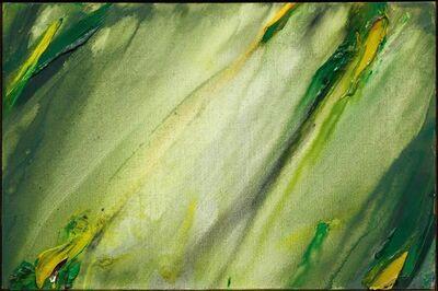 Olivier Debré, 'Wales barres vertes et jaunes', 1976