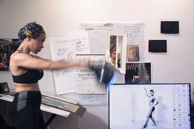 Rashayla Marie Brown, 'Credibility, Viability, Accuracy/Maya Angelou as a Sex Worker/Can't Knock the Hustle', 2016