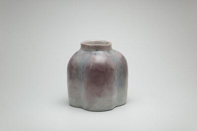 Shin Fujihira, 'Cinnabar Pot', 1990