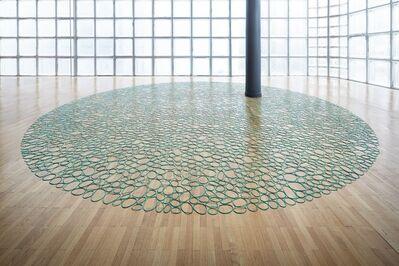 Ignacio Uriarte, 'Rubber Band Carpet', 2015