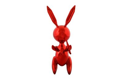 After Jeff Koons, 'Red rabbit'