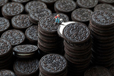 Christopher Boffoli, 'Oreo Cookie Stuffer', 2011