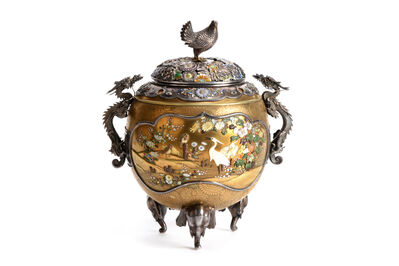 NON NAME, 'Shibayama Incense Burner  18 0397', ca. 1880~