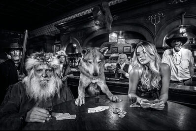 David Yarrow, 'Aces and Eights', 2020