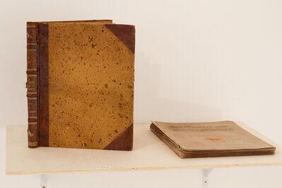 """Henrique Alvim Correa, 'Livro Original """"Guerra dos Mundos', 1906"""