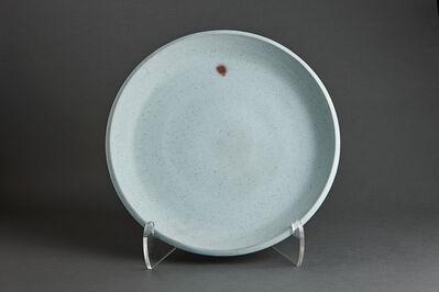 Young Jae Lee, 'Plate, barium and feldspar glaze'