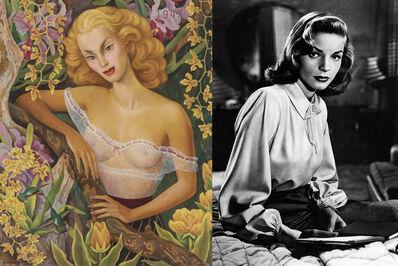 Bonnie Lautenberg, '1940 The Philadelphia Story / Stuart Davis, Hot Still Scape for Six Colors - 7th Avenue Style', 2018