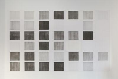 Alberto Gil Cásedas, '65.209 [ Steps out ]. Lineal abstract calendar of urban drifts', 2014